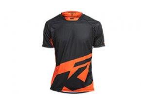 Cyklistický dres KTM Factory ENDURO Black/orange