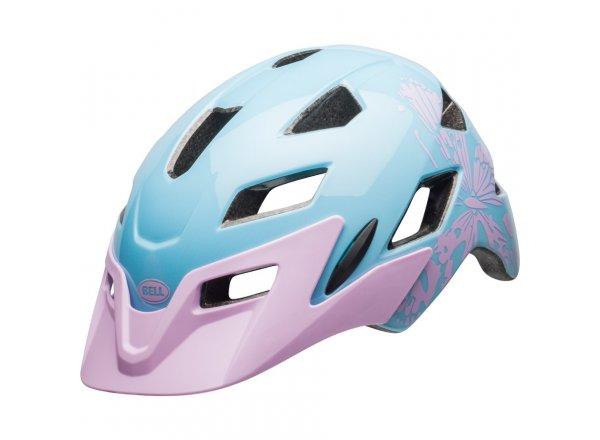 Dětská helma na kolo Bell Sidetrack Youth Lilac Flutter