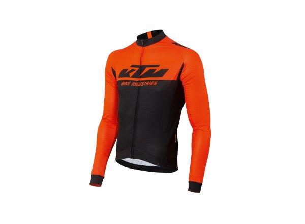 Cyklistický dres KTM Factory Team Black/orange